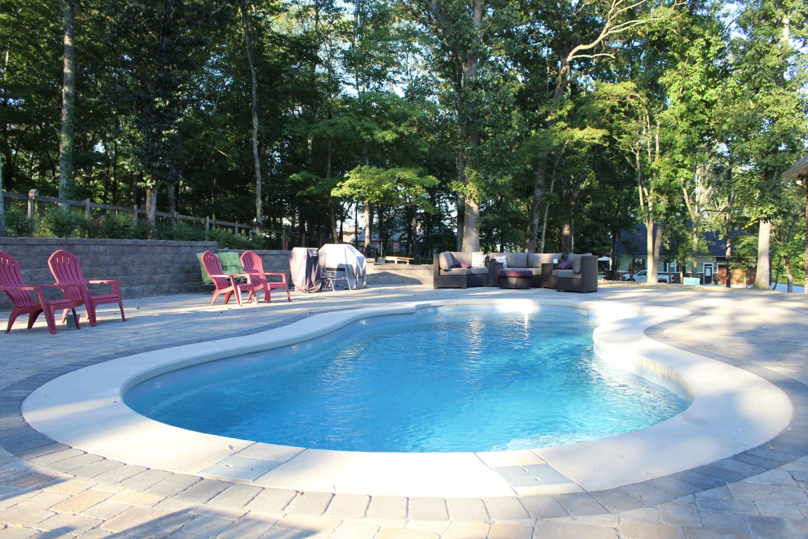 Leisure Pools Eclipse 35 Silver Grey w Round Sorrent Spa 2019 0816 7