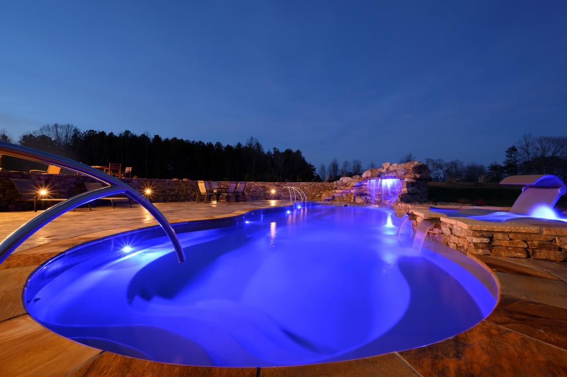 Leisure Pools Mediterranean Sapphire Blue 2020 0114 m2